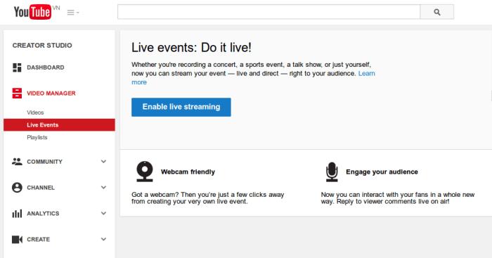 Dịch vụ Livestream sự kiện chuyên nghiệp